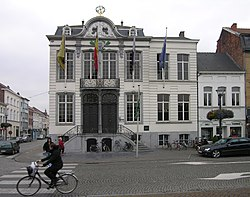 City Hall in Lokeren