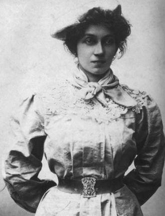Lola Mora - Mora in the 1890s