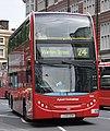 London General bus EH4 (LX58 DDN) 2009 Alexander Dennis Enviro400H hybrid, Tottenham Court Road, route 24, 2 July 2011.jpg