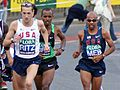 London Marathon 2009 Ritz and Meb.jpg