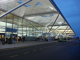 "Nick Barton, the airport's managing director.states ""Stansted airport could double the number of handled passengers to 36 million if it was exempt from Civil Aviation Authority regulation"""