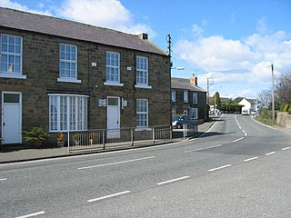 Longhorsley Human settlement in England