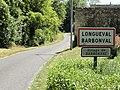 Longueval-Barbonval (Aisne) entrée de Barbonval.JPG