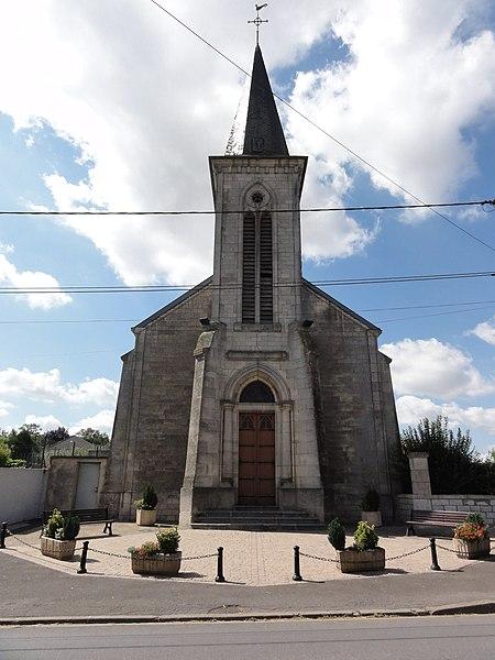 Longuyon (Meurthe-et-M.) église de Noërs