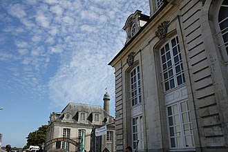 Raid on Lorient - Hôtel Gabriel, site of the East India Company's headquarters.