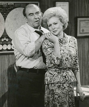 Lou Grant - Lou delivers the news to Sue Ann that her program has been cancelled.