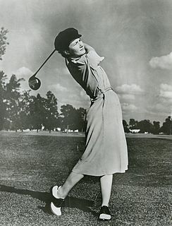 Louise Suggs American golfer