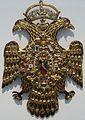 Louvre-Lens - L'Europe de Rubens - 052 - Pectoral en forme d'aigle bicéphale (A).JPG