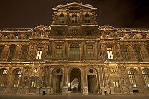 "Black cube art museum - , Paris, typical of a ""classical"" museum."