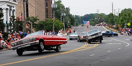 2011 4th of July parade participants Just Klownin Virginia Car Club