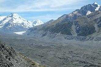 Tasman Glacier - Lower Tasman Glacier