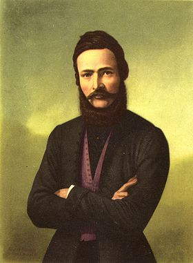 Ľudovít Štúr in a portrait from the 19th century