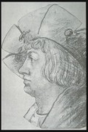 Ludwig Senfl - Undated portrait of Senfl c.1510. Artist unknown