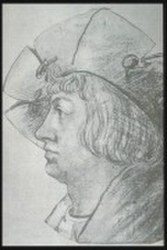 Ludwig Senfl - Undated portrait of Senfl c.1510. Artist unknown