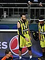 Luigi Datome 70 & Bobby Dixon Fenerbahçe men's basketball EuroLeague 20180405.jpg