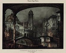 Luigi Verardi after Dominico Ferri - Gaetano Donizetti - Carrefour de St Jean et Paul. Dans l'Opéra Marino Faliero.jpg