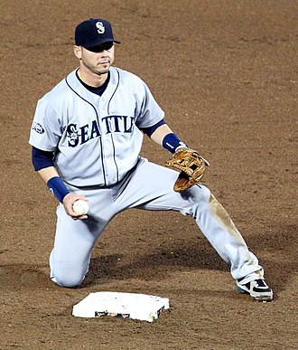 Luis Rodríguez (baseball) - Rodriguez with the Seattle Mariners