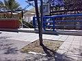 """Lungomare Circe! Il marciapiedi in rifacimento con il posizionamento delle """"nuove mattonelle"""" UN'OPERA D'ARTE MODERNA - panoramio.jpg"""