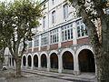 Lycée Mignet, cour intérieure, avenue Malherbe, Aix-en-Provence (France).JPG