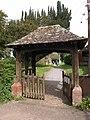 Lychgate, Goathurst - geograph.org.uk - 1835634.jpg