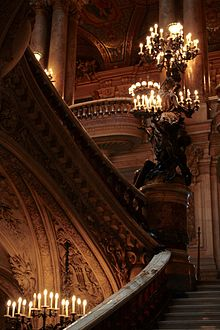 Palais garnier wikipedia grand escalier ascending from behind aloadofball Images