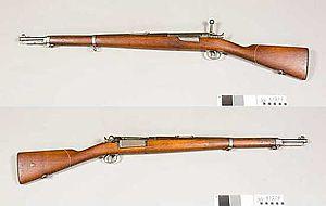 Krag–Jørgensen - Danish M.1889 Carbine