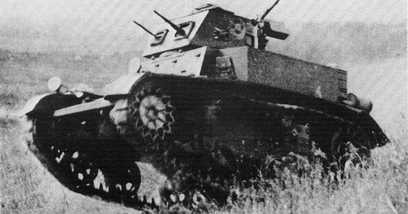 M1 Combat Car - Credits: Wikipedia