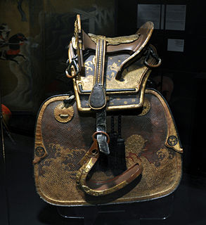 <i>Kura</i> (saddle) Japanese traditional horse saddle
