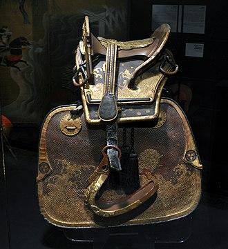 Kura (saddle) - Image: MAP Expo Selle Edo 02 01 2012