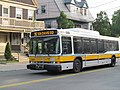 MBTA route 96 bus on College Avenue, June 2015.JPG