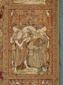 MCC-21687 Rode koorkap met de doop van Christus, scènes uit het leven van Johannes de Doper en H. Cyriacus (9).tif