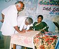 MPTC Members Sign in administer an oath note YVSREDDY.JPG