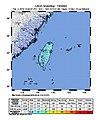 M 6.1 - 14km NNE of Hualian, Taiwan - intensity.jpg