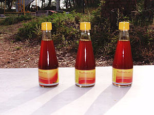 Sweet sorghum - Madhura sweet sorghum syrup sold in India