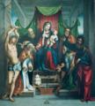 Madonna col Bambino in trono e Santi.png