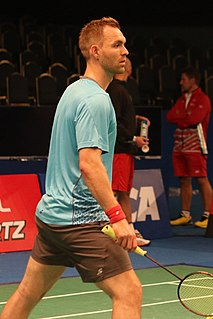 Mads Conrad-Petersen Badminton player
