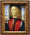 Maestro esiguo, ritratto di giovane, 1490-1510 ca.jpg