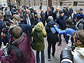 "Magdalena Andersson during the ""budget walk"" to Parliament, Oct 23, 2014 06.jpg"