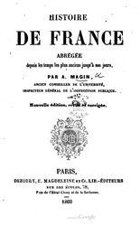 Histoire De France Abrégée
