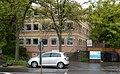 Mainz-Hartenberg-Münchfeld- Mombacher Straße- Gebäude des Arab-Nil-Rhein-Vereins und des Internationalen Bundes- von Mombacher Straße aus 26.5.2013.jpg