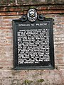 Majayjay Church historical marker.jpg