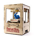 Makerbot Thing-O-Matic Assembled Printing Blue Rabbit.jpg