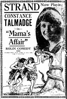 <i>Mamas Affair</i> 1921 film by Victor Fleming