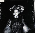 Manchu bride, Peking, Penchilie province, China Wellcome V0037168.jpg