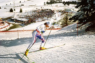 Isabelle Mancini French cross-country skier