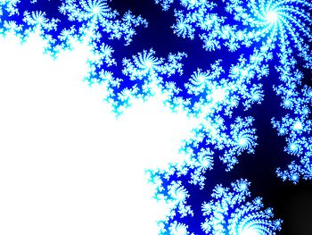 Mandlebrot Fractal made with Paint.NET