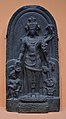 Manjusri Inscribed - Basalt - ca 10th-11th Century CE - Pala Period - Kurkihar - ACCN Kr 7 - Indian Museum - Kolkata 2016-03-06 1498.JPG