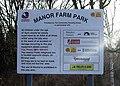 Manor Farm Park sign - geograph.org.uk - 1637758.jpg