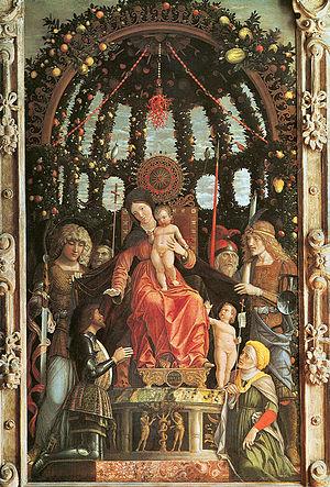 Madonna della Vittoria - Image: Mantegna, madonna della vittoria
