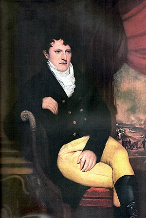 Manuel Belgrano - Portrait of Manuel Belgrano by François-Casimir Carbonnier made during Belgrano's diplomatic mission to London